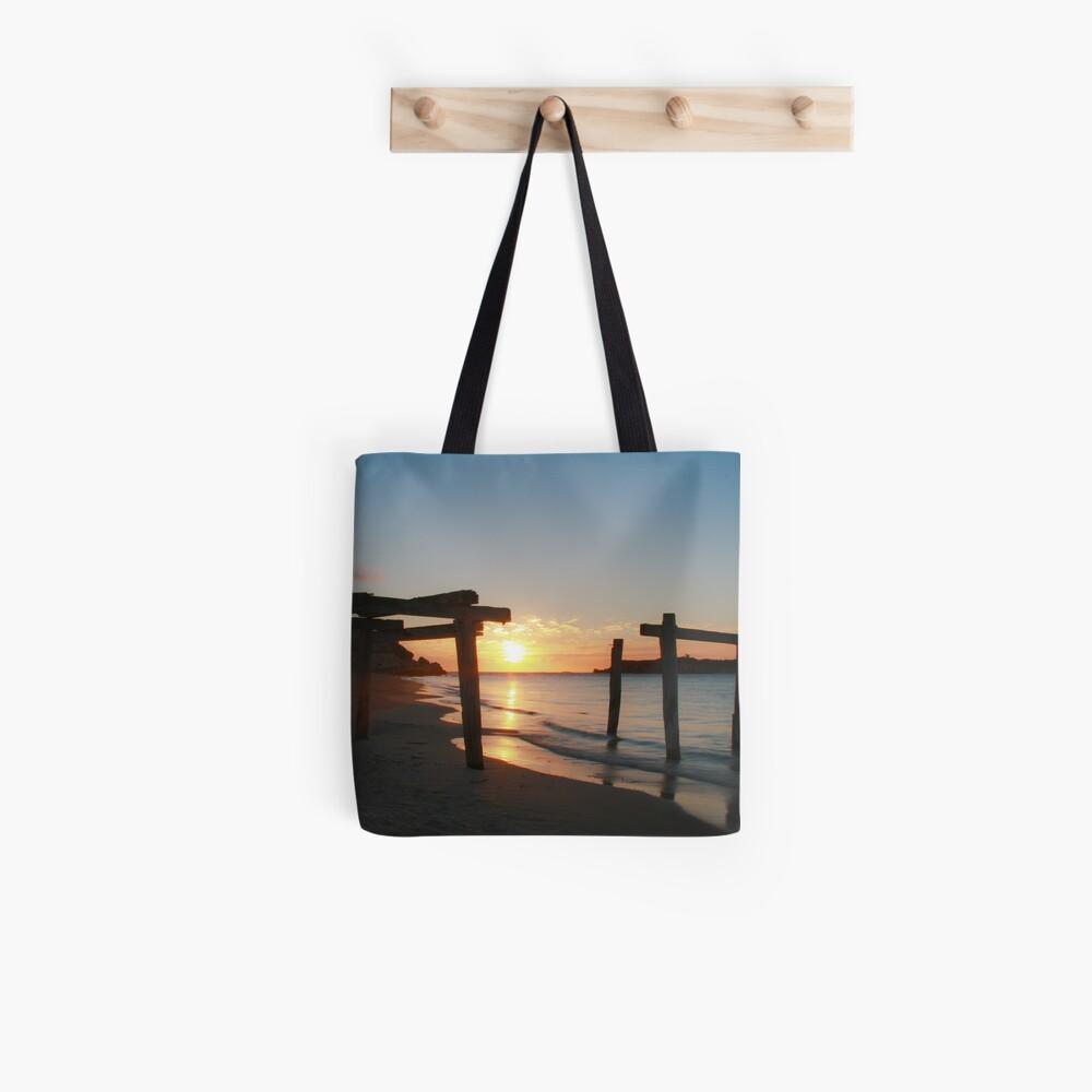 Hamelin Bay Sunset Tote Bag