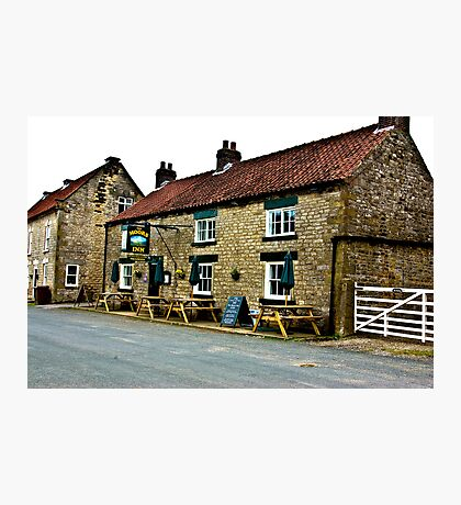 The Moors Inn  -  Appleton-le-Moors  Photographic Print