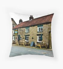 The Moors Inn  -  Appleton-le-Moors  Throw Pillow