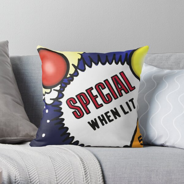 Special When Lit Throw Pillow