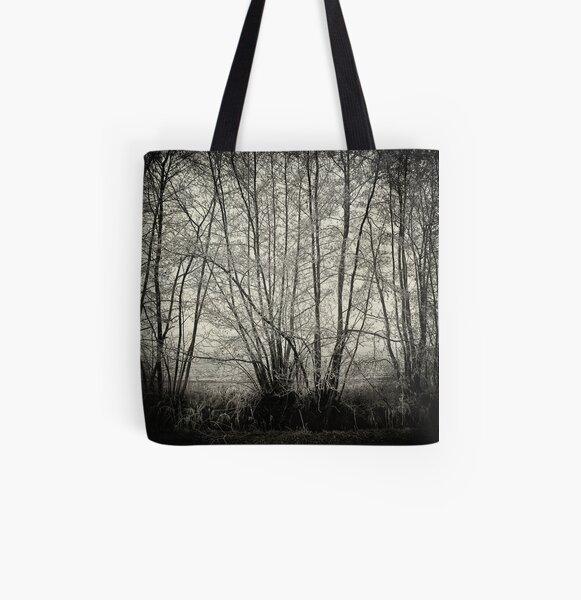 branches in the mist All Over Print Tote Bag