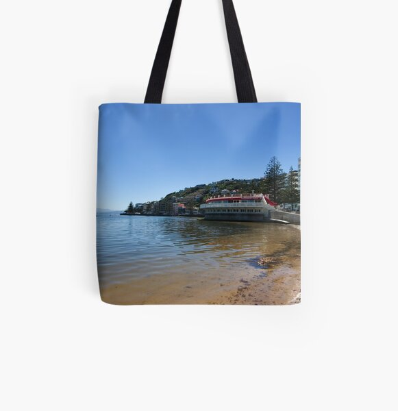 Summertime at Oriental Bay All Over Print Tote Bag