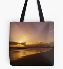 Sun Down of the New Year Tote Bag