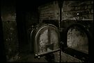 Auschwitz I Crematoria by Peter Harpley