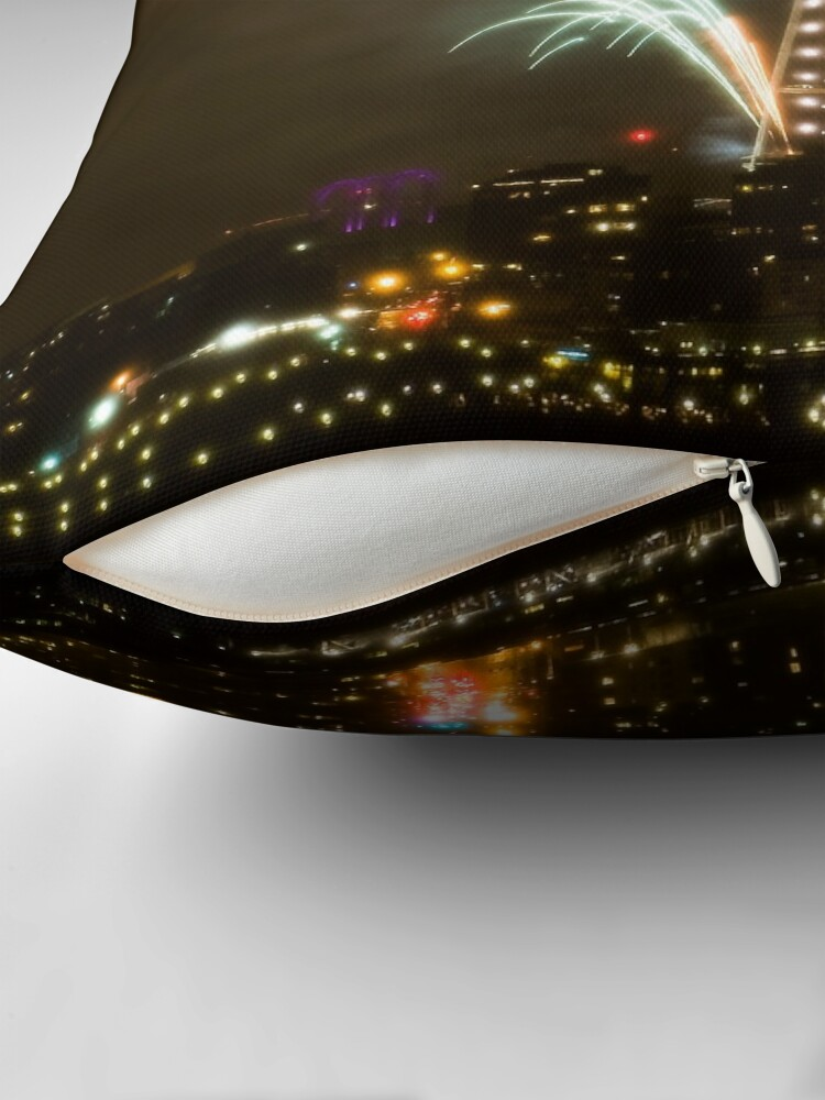 Alternate view of 2009: Seattle Enlightened  Throw Pillow