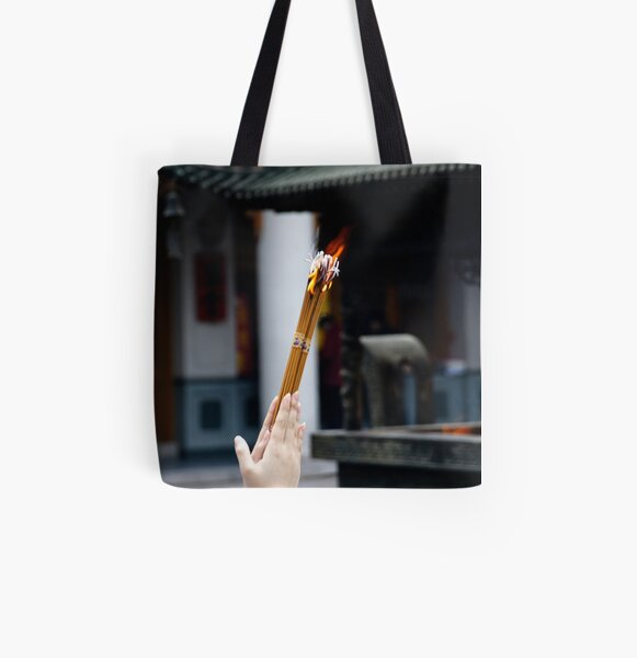 Fire and faith All Over Print Tote Bag