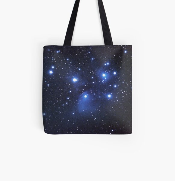 M45 seven sisters All Over Print Tote Bag