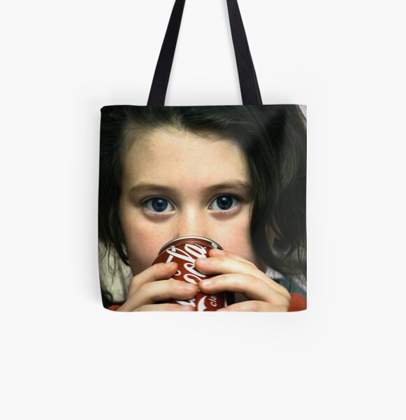 Coke Before Bed All Over Print Tote Bag