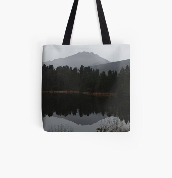 Silent Valley Reflections All Over Print Tote Bag