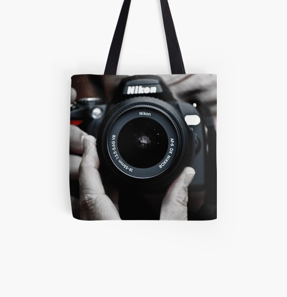 Nikon Shooter All Over Print Tote Bag