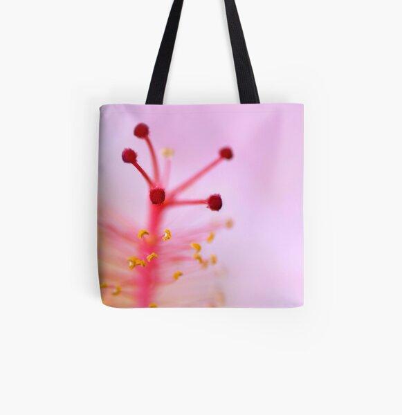 we're all kissed by angels but some of us never think to pucker... All Over Print Tote Bag