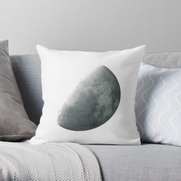 THE MOON INVERTED Throw Pillow