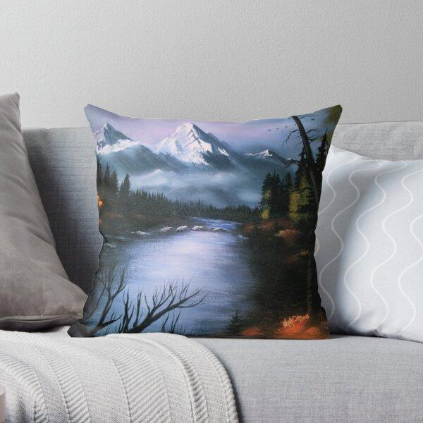 Alaskan Autumn Throw Pillow
