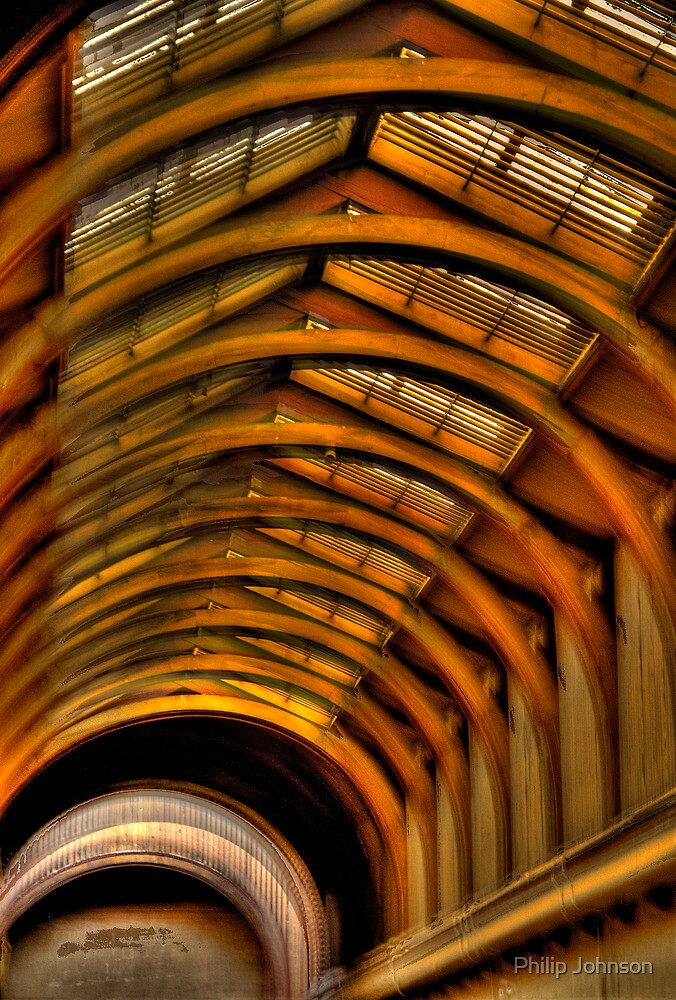 Arch Enemies - Old Melbourne Gaol, Melbourne - The HDR Experience by Philip Johnson