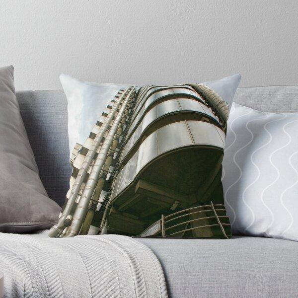Lloyds Building  Throw Pillow