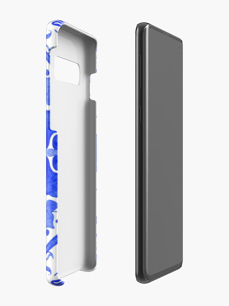 Alternate view of Portuguese azulejo tiles.  Case & Skin for Samsung Galaxy