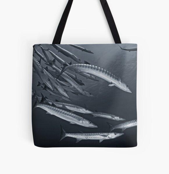 Cuda All Over Print Tote Bag