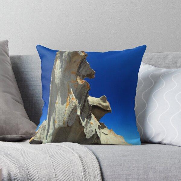 Remarkable Rocks Throw Pillow