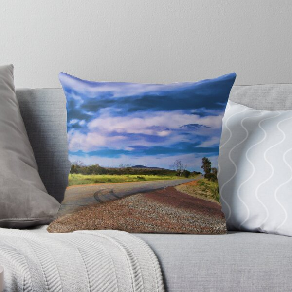 Yes this way, Hey Wait for me! Throw Pillow