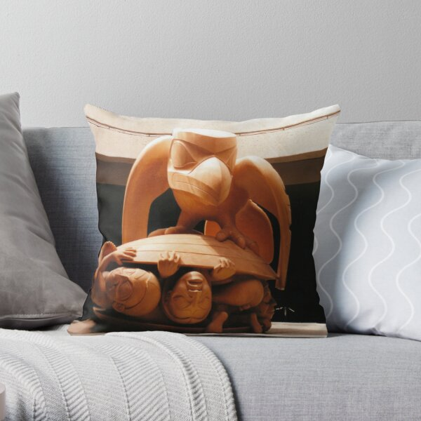 The Raven and the First Men Throw Pillow