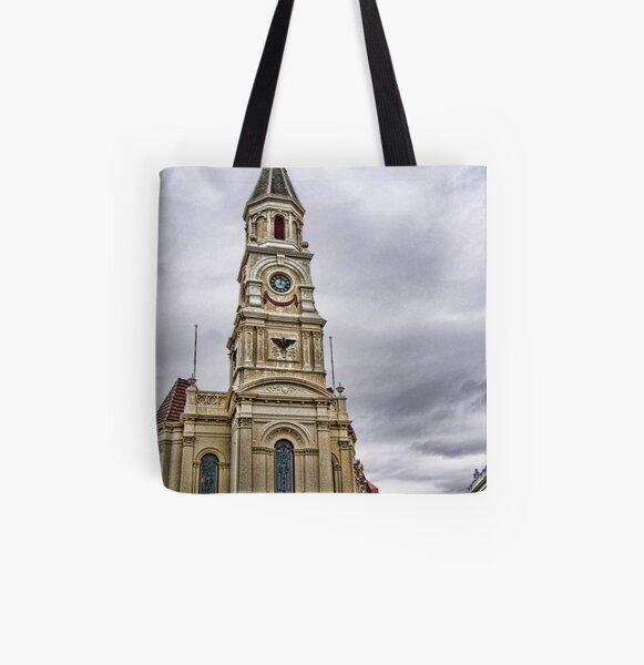 Fremantle Town Hall All Over Print Tote Bag