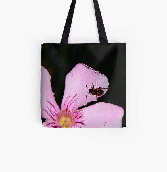 Milkweed Bug All Over Print Tote Bag
