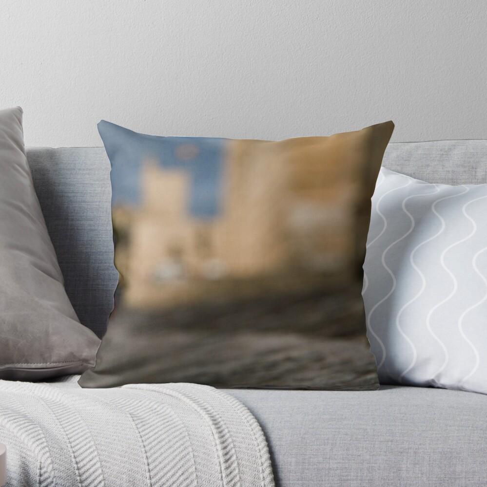 La Seu - Palma de Mallorcas 12th Century Cathedral #2 Throw Pillow