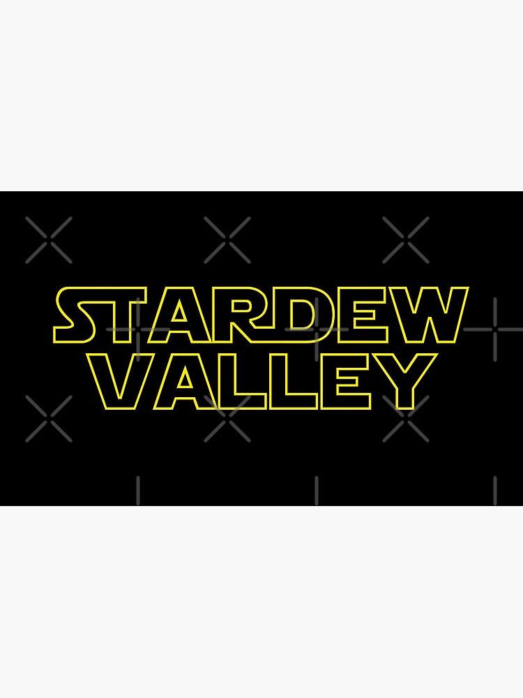 Stardew Wars   Stardew Valley Parody Logo by surik-