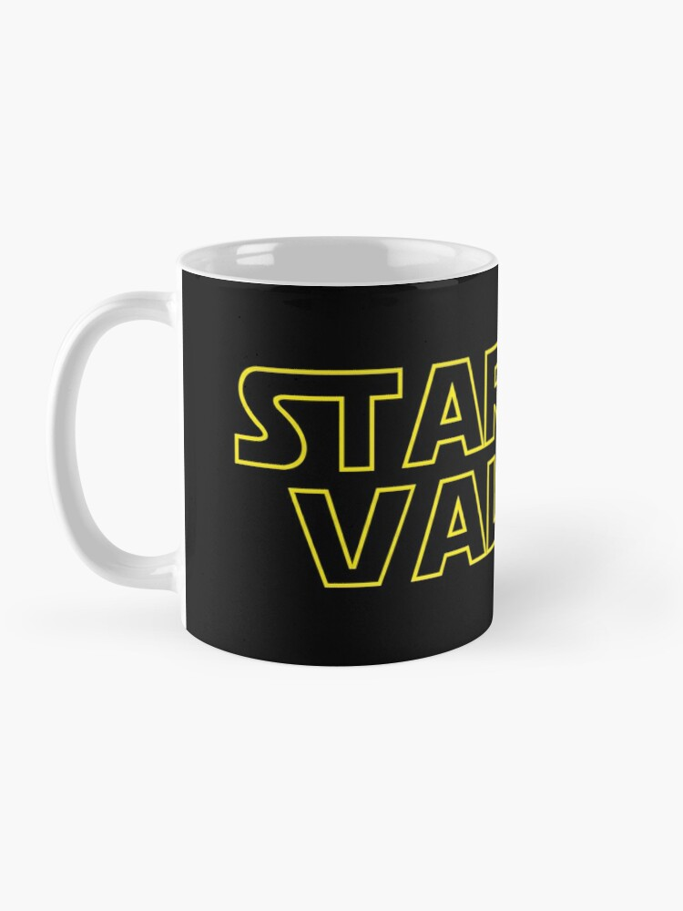 Alternate view of Stardew Wars   Stardew Valley Parody Logo Mug