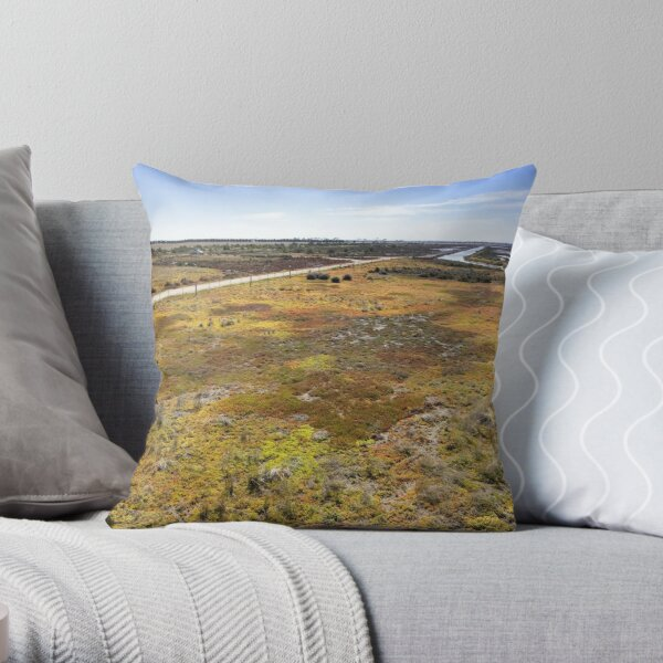 Cheetham Wetlands Throw Pillow
