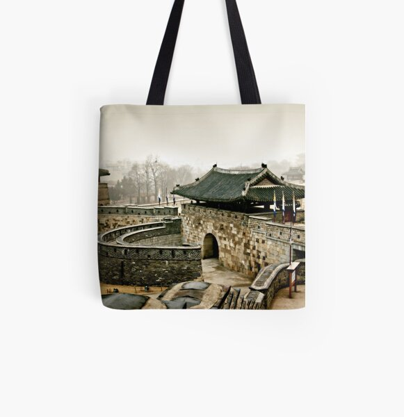 Old Fort All Over Print Tote Bag