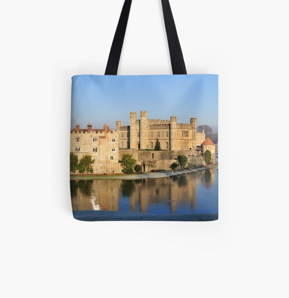 Leeds Castle II All Over Print Tote Bag