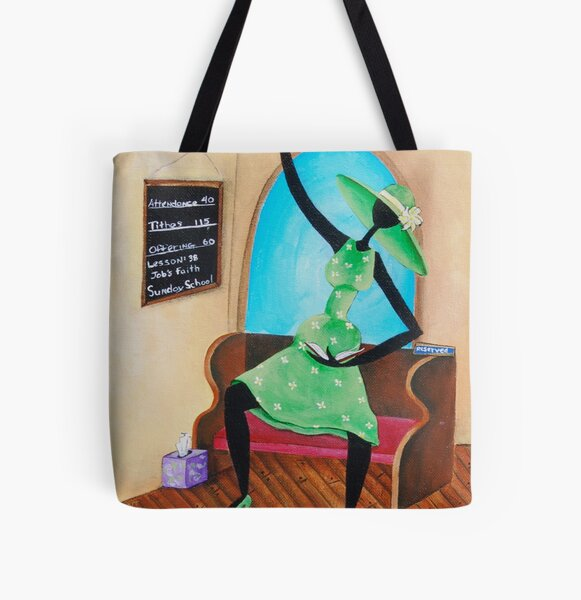 Bring That Word! All Over Print Tote Bag
