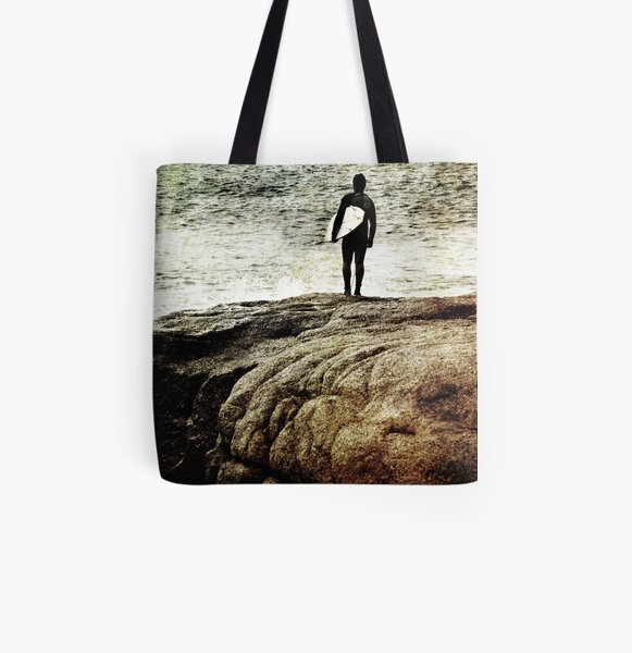 Just Swell All Over Print Tote Bag