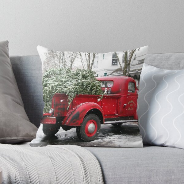 Chevy Pickup Truck  Throw Pillow