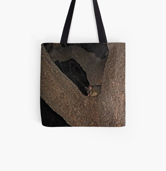 Hello Possum All Over Print Tote Bag