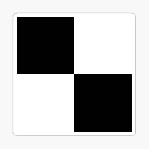 Quadrants  Sticker
