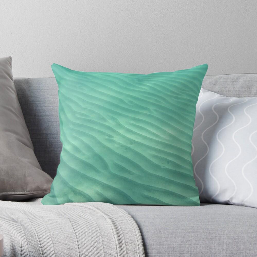 Ocean Dunes Throw Pillow