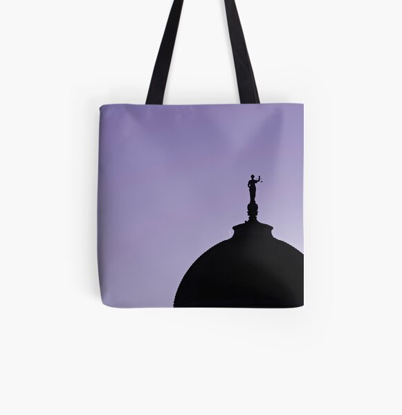 County Court House All Over Print Tote Bag