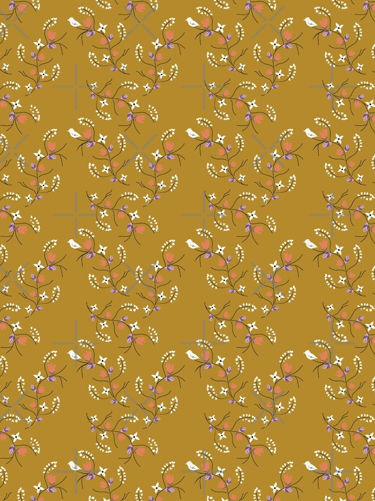 Spring Mustard Floral by CreativeContour