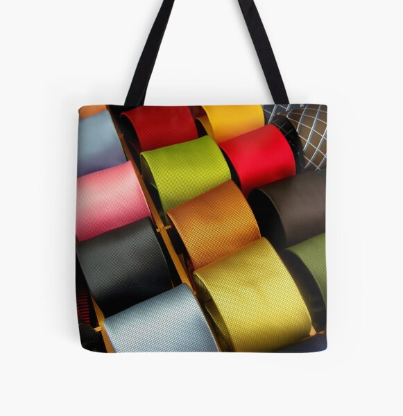 Venitian Ties All Over Print Tote Bag