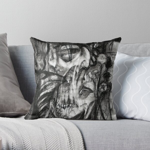self portrait as sung by molko Throw Pillow