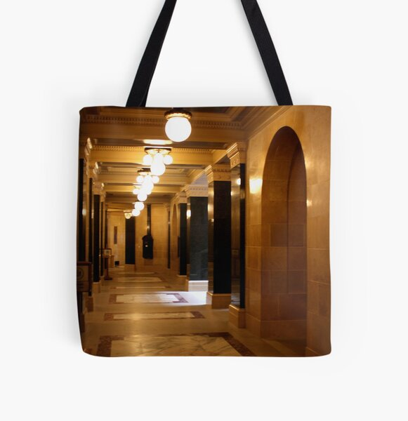 To the Future All Over Print Tote Bag