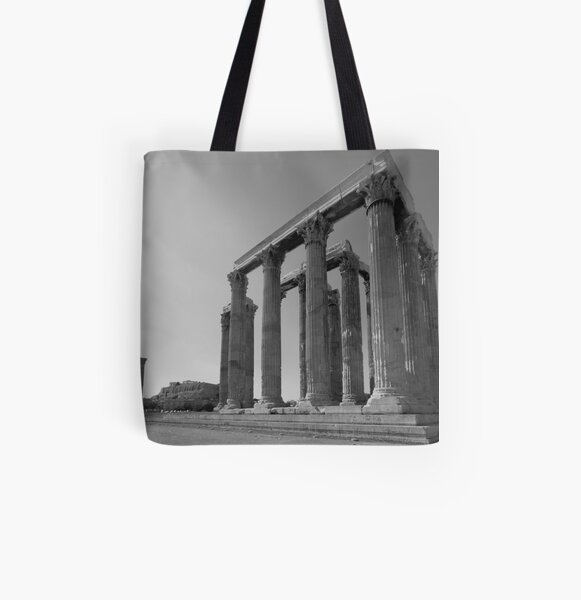 Temple of Olympian Zeus All Over Print Tote Bag