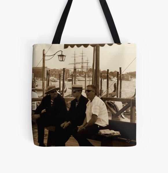 Gondolier Gossip All Over Print Tote Bag