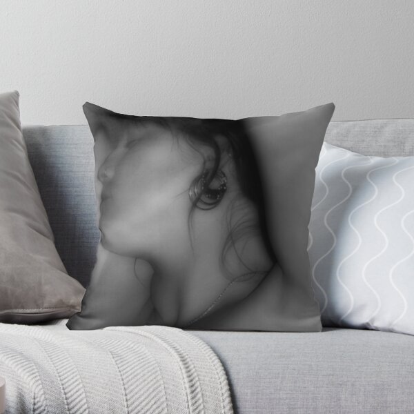 self portrait revisited Throw Pillow