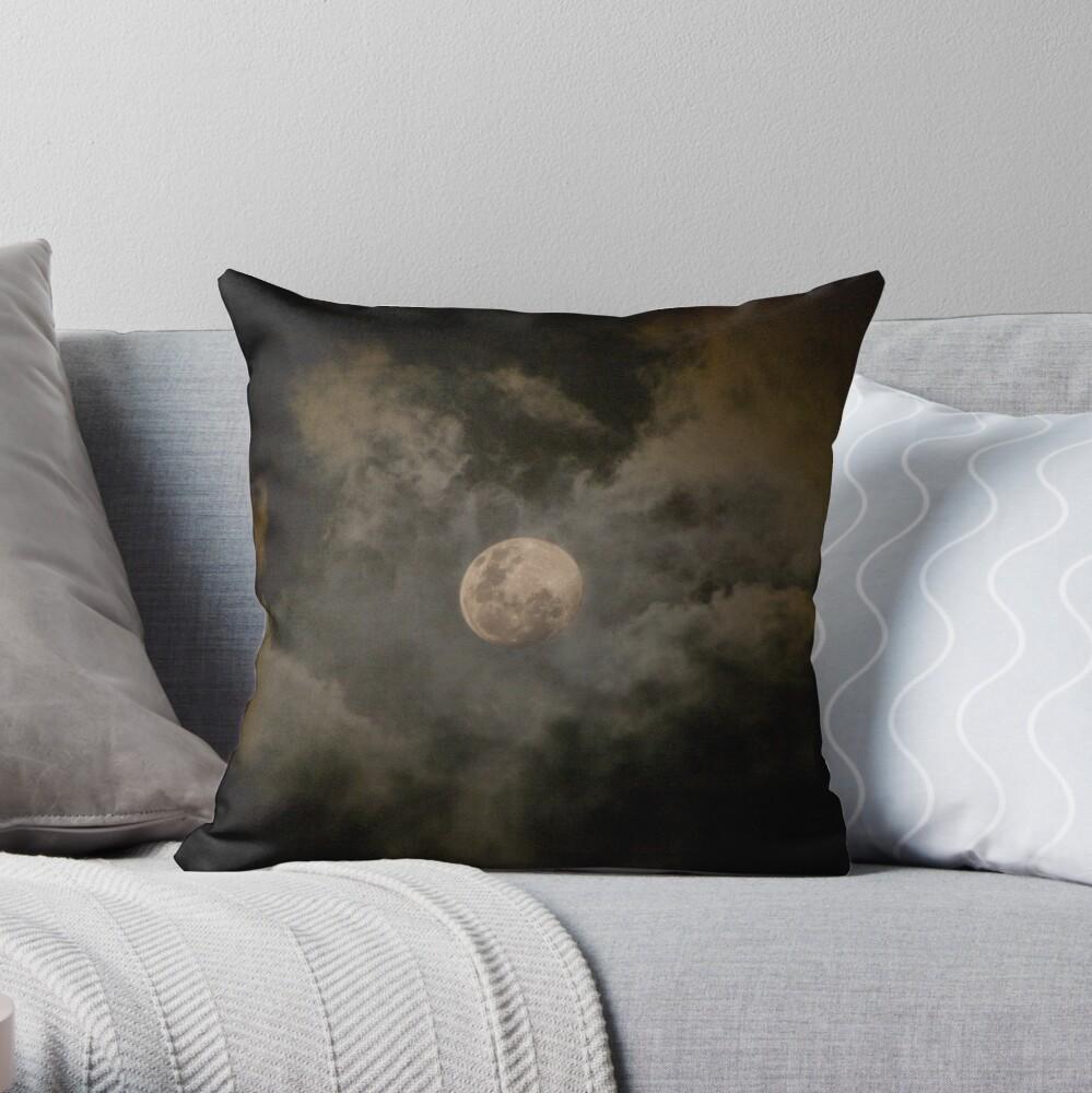moonscape 2 Throw Pillow