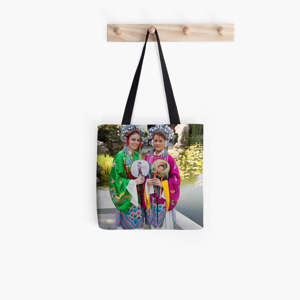 Girls in the Gardens Tote Bag