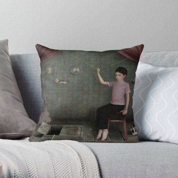 Lisy ( other dreams)... Throw Pillow
