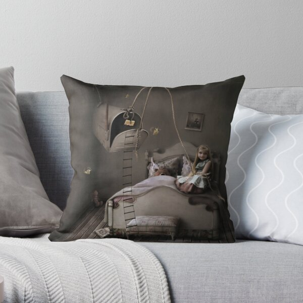 Trap of fairy tales Throw Pillow